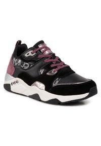 Napapijri - Sneakersy NAPAPIJRI - Lea NP0A4F8U Black 411. Okazja: na co dzień, na spacer. Kolor: czarny. Materiał: zamsz, skóra ekologiczna. Szerokość cholewki: normalna. Sezon: lato. Styl: casual