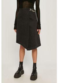 Czarna spódnica Miss Sixty na co dzień, klasyczna