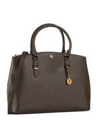 Zielona torebka klasyczna Lauren Ralph Lauren