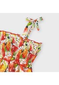 Mayoral Sukienka codzienna 3954 Kolorowy Regular Fit. Okazja: na co dzień. Wzór: kolorowy. Typ sukienki: proste. Styl: casual