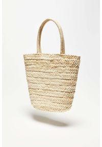 MOODO - Pleciona torebka. Wzór: gładki