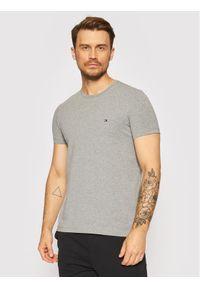 TOMMY HILFIGER - Tommy Hilfiger T-Shirt Stretch MW0MW10800 Szary Slim Fit. Kolor: szary