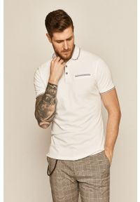 Biała koszulka polo medicine polo