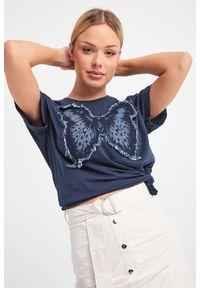 T-shirt TwinSet na co dzień, casualowy