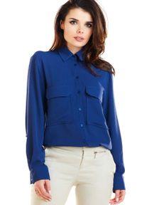 Niebieska koszula Awama