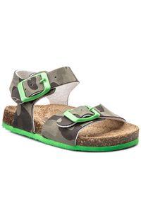 Brązowe sandały Primigi na spacer, na lato, klasyczne