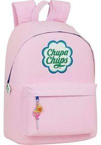 Różowy plecak na laptopa Chupa Chups
