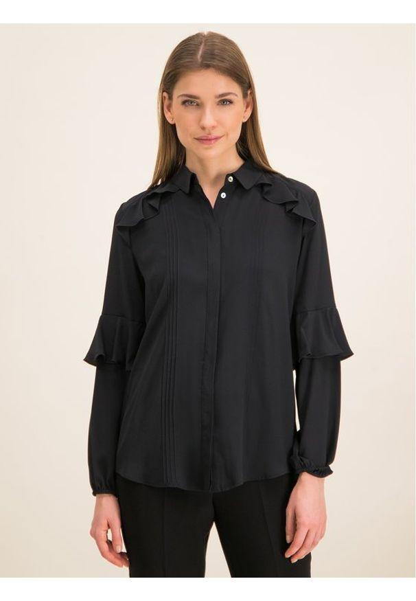 iBlues Koszula 71161096 Czarny Regular Fit. Kolor: czarny