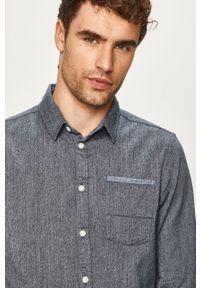 Niebieska koszula Blend klasyczna, z klasycznym kołnierzykiem, długa #5
