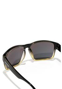 Hawkers - Okulary FUSION ACID FASTER. Kształt: prostokątne. Kolor: czarny