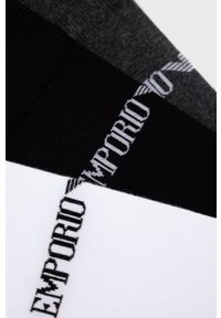 Emporio Armani Underwear - Skarpetki (3-pack). Kolor: czarny