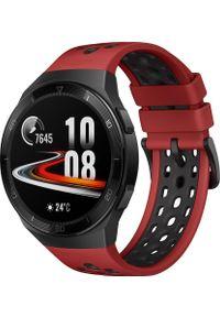 Czerwony zegarek HUAWEI smartwatch