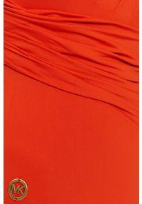 Czerwony strój kąpielowy Michael Kors z wyjmowanymi miseczkami