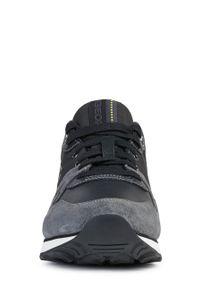 Szare sneakersy Geox z cholewką, z okrągłym noskiem #7