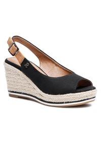 Czarne sandały Refresh