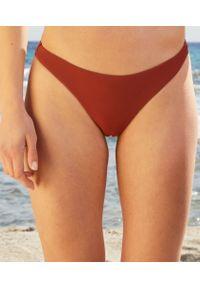 Liliah Majtki Bikini Brazylijskie Od Kostiumu Kąpielowego - 40 - Brązowy - Etam. Kolor: brązowy. Materiał: tkanina