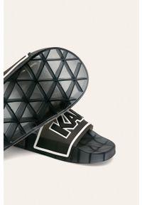 Czarne klapki Karl Lagerfeld