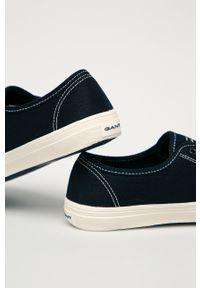 GANT - Gant - Tenisówki Pillox. Nosek buta: okrągły. Zapięcie: sznurówki. Kolor: niebieski. Materiał: guma