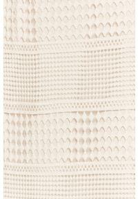 Biała spódnica Guess Jeans w koronkowe wzory, na co dzień, casualowa
