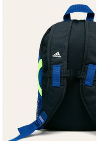Niebieski plecak adidas Performance z nadrukiem