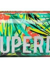 Superdry Piórnik Jelly Pencil Case W9810025A Zielony. Kolor: zielony #5