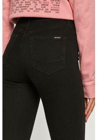 Czarne jeansy Cross Jeans z podwyższonym stanem #5