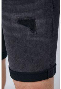 medicine - Medicine - Szorty jeansowe Summer Heat. Kolor: czarny. Materiał: jeans