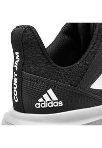 Czarne półbuty Adidas z cholewką, na co dzień, casualowe