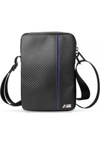 Niebieska torba na laptopa BMW