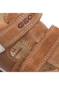 Brązowe półbuty Geox