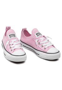 Różowe trampki Converse
