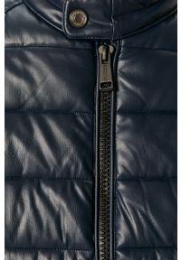 Niebieska kurtka Guess Jeans bez kaptura, na co dzień, casualowa
