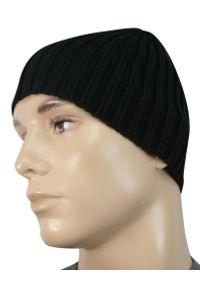 Czarna czapka Kings na zimę