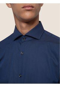 Niebieska koszula biznesowa Hugo