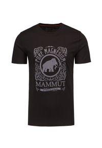 Mammut - T-shirt MAMMUT SLOPER. Materiał: bawełna, dzianina. Styl: klasyczny
