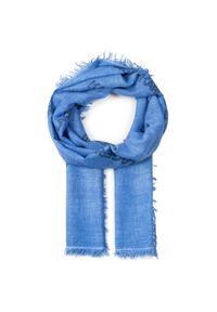Niebieski szalik Karl Lagerfeld