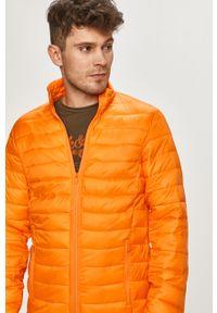 Pomarańczowa kurtka Brave Soul bez kaptura, gładkie, na co dzień
