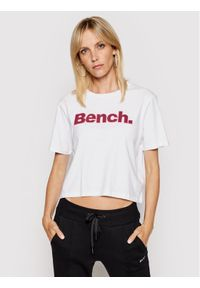 Bench T-Shirt Kay 117362 Biały Regular Fit. Kolor: biały
