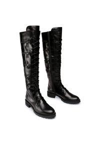 Czarne buty trekkingowe Rage Age z cholewką, klasyczne
