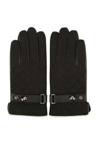 Czarne rękawiczki Wittchen