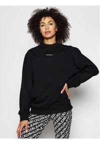 Calvin Klein Jeans Bluza J20J216555 Czarny Relaxed Fit. Kolor: czarny
