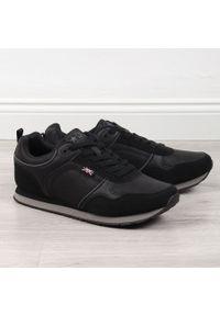 Czarne buty sportowe NEWS