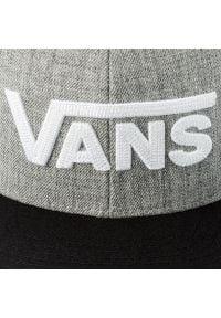 Vans - Czapka z daszkiem VANS - Drop V II Snapb VN0A36ORHGB Heather Grey-Bl. Kolor: szary. Materiał: materiał, wełna, akryl