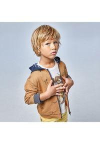 Mayoral Bluza 3409 Brązowy Regular Fit. Kolor: brązowy