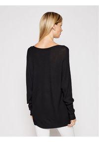 Kontatto Sweter 3M7225 Czarny Relaxed Fit. Kolor: czarny