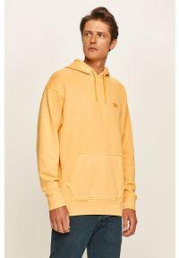 Levi's® - Levi's - Bluza. Okazja: na spotkanie biznesowe. Kolor: żółty. Materiał: dzianina. Wzór: gładki. Styl: biznesowy
