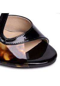 Czarne sandały Maccioni eleganckie