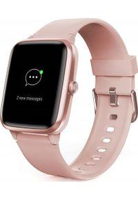 hama - Smartwatch Hama Fit Watch 5910 Różowy (001786050000). Rodzaj zegarka: smartwatch. Kolor: różowy