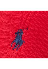 Czerwona czapka z daszkiem Polo Ralph Lauren sportowa