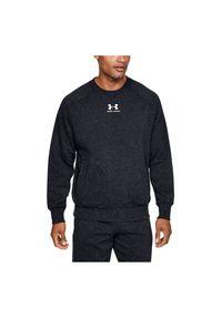 Bluza męska Under Armour Speckled Fleece Crew 1352018. Materiał: włókno, syntetyk, poliester, materiał, bawełna. Długość rękawa: raglanowy rękaw